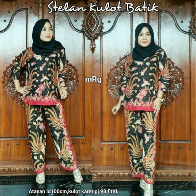 Dapatkan Harga setelan kulot Pakaian Wanita Batik   Kebaya Atasan Kebaya Setelan  Batik   Kebaya Diskon  6d6122a897
