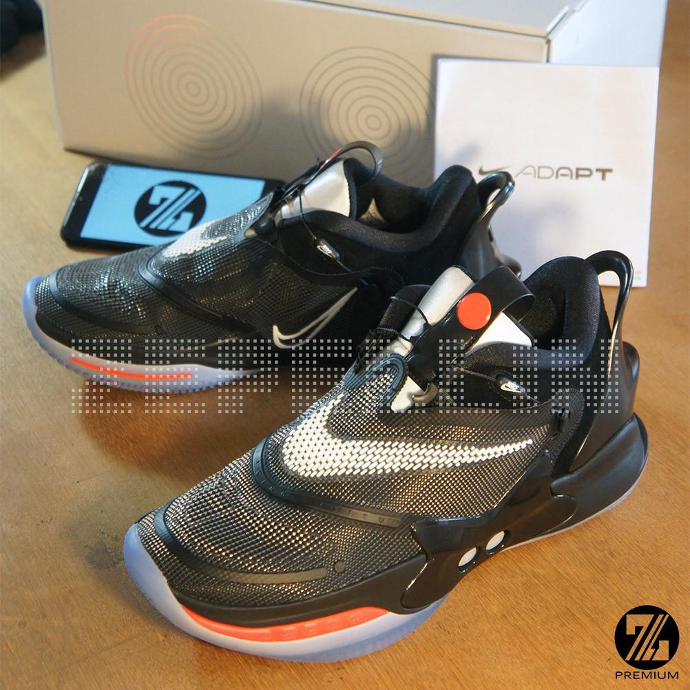 Sepatu Sneakers Nike Adapt Bb 2 0 Black Original Size Us10 44 Shopee Indonesia