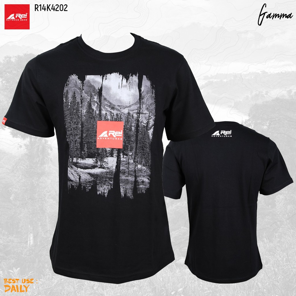 Rei Outdoor Arei Kaos Simple Move Shopee Indonesia Eiger Riding Ride Classic Ol T Shirt Navy Pria Xl