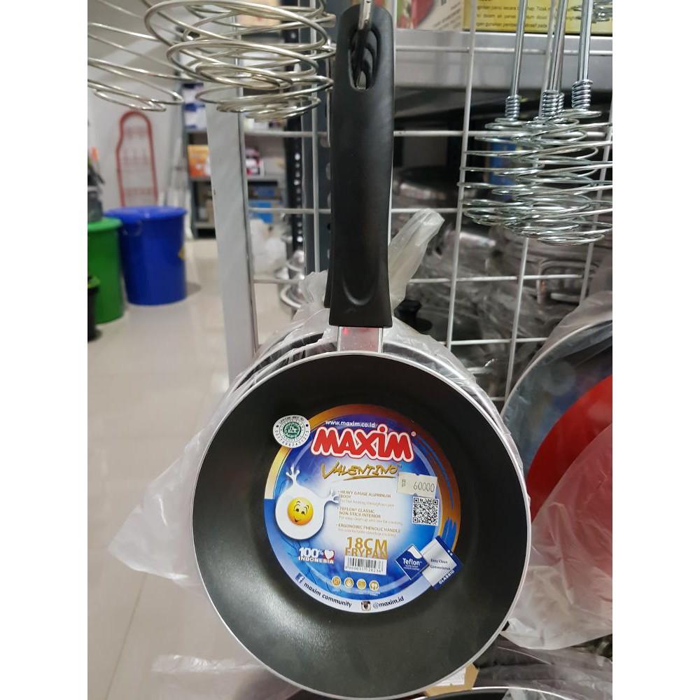 Maxim Wajan Teflon 36cm Tutup Chef Wok Cek Harga Terkini Dan Heritage Yuwa Kecil 16cm