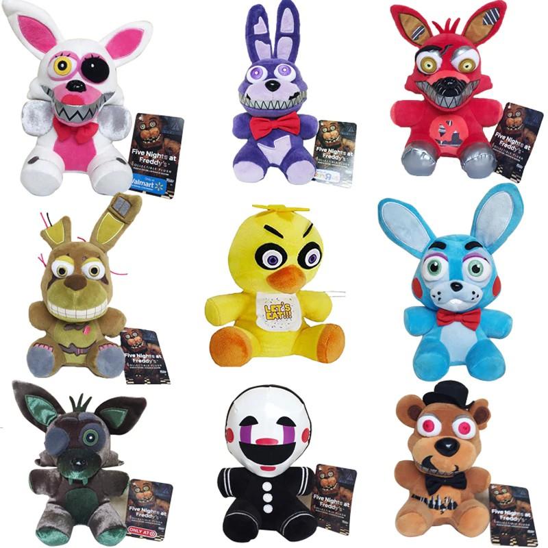 Koala Stuffed Animals Mini, Baby Toys 18cm Fnaf Toys Five Nights At Freddy Plush Toy Doll Freddy Fazbear Foxy Bonnie Chica Shopee Indonesia