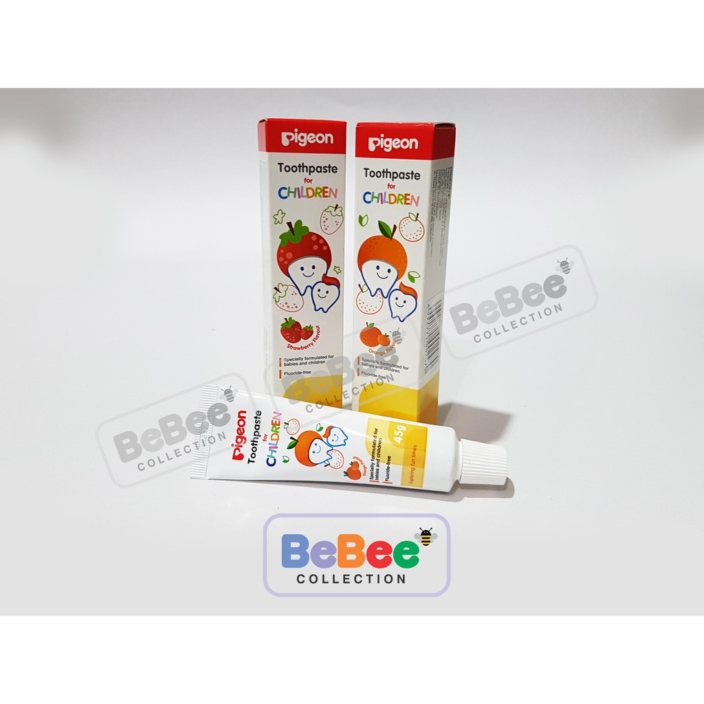 Pigeon Toothpaste 45gr Pasta Gigi Anak Shopee Indonesia Baby Strawberry