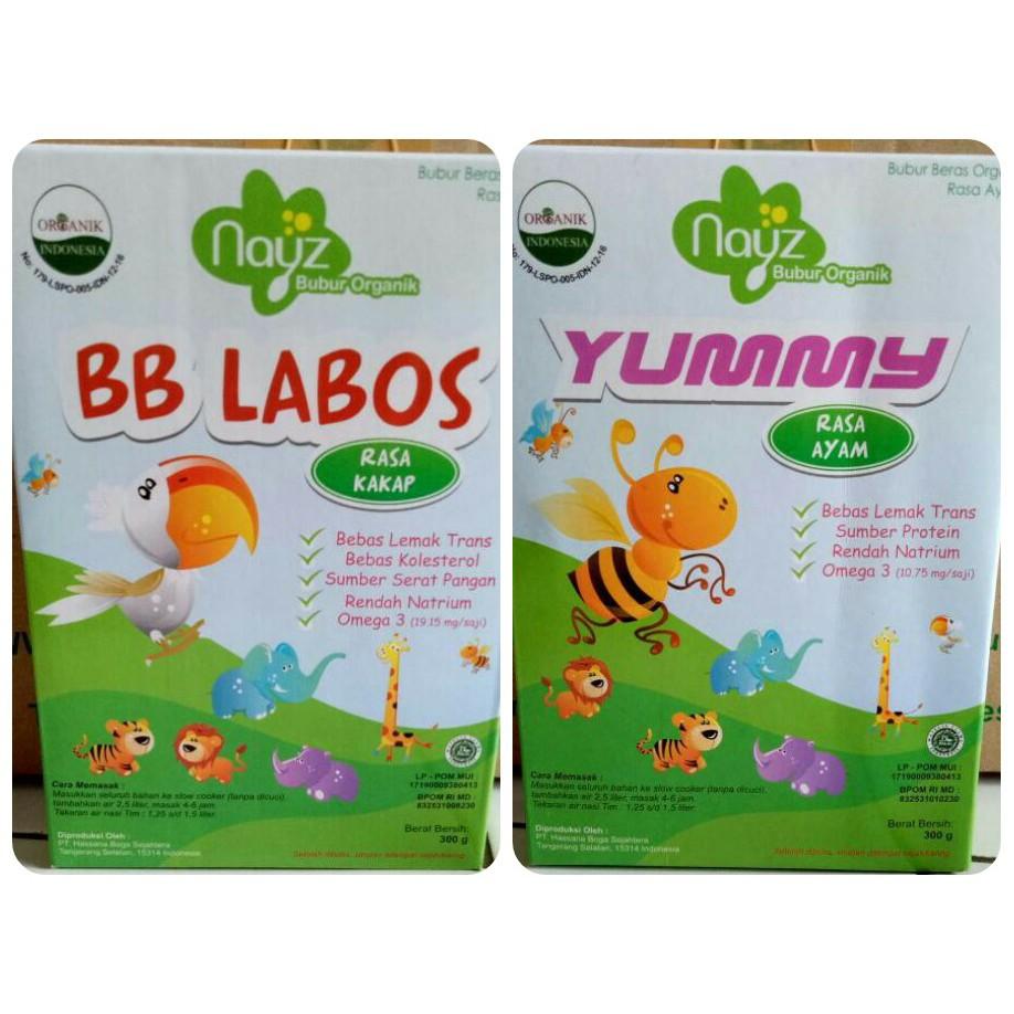Paling Murah Nayz Bubur Bayi Organik Sehat Dan Lezat Beras Bebiluck Kemasan Box Shopee Indonesia