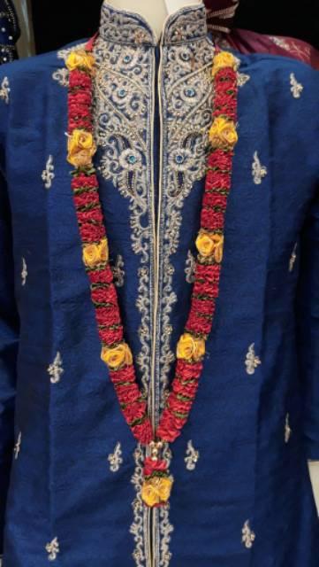 Kalung Bunga Pengantin India Untuk Cewek Cowok Shopee Indonesia