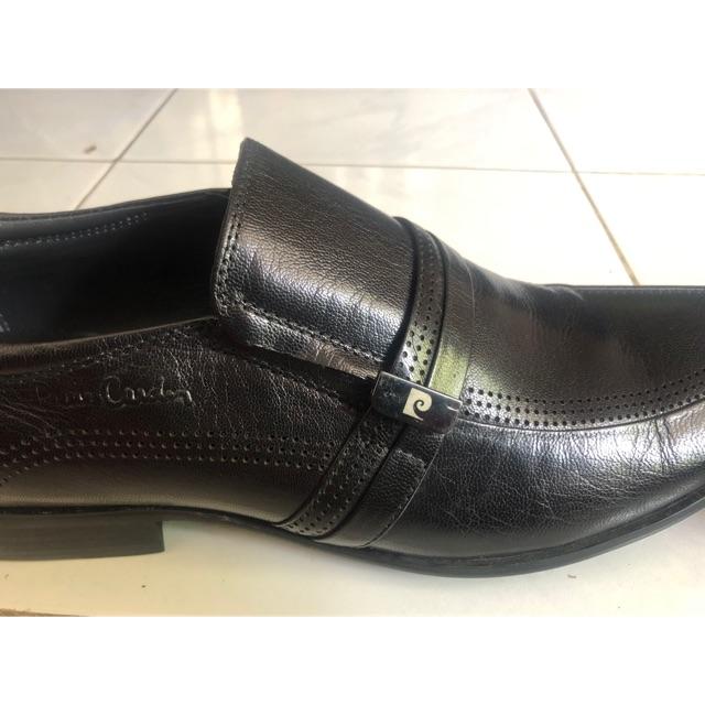 Sepatu Pantofel Fantofel Formal Merek Pierre Cardin Original Uk 41 Shopee Indonesia