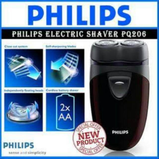 Philips Electric Shaver PQ 206 Pencukur penyukur Rambut Kumis janggut jembut  philips  9794257734