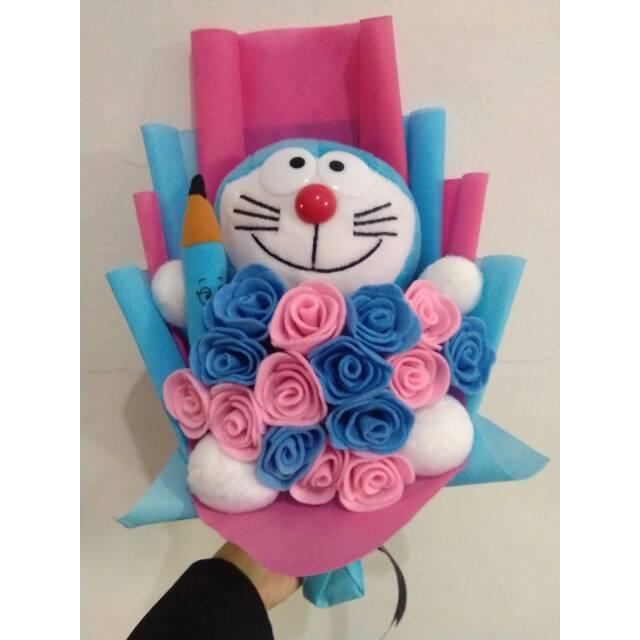 Buket Bunga Doraemon Shopee Indonesia