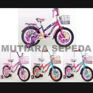sepeda anak perempuan Mini BNB 15 ukuran 16
