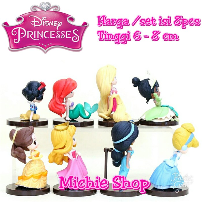 Figure disney princess Cinderella snow white ariel Rapunzel  3b1e29985d