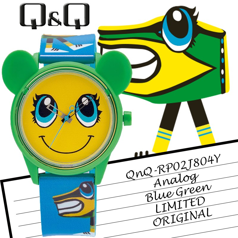 Limited Solar Edition Qnq Q Q Original Rp02j804y Jam Tangan Unisex Rubber Strap Motif Lucu Murah Shopee Indonesia
