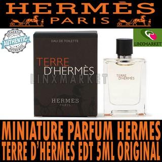 MINIATURE PARFUM TERRE D'HERMES EDT 5ML ORIGINAL TERMURAH HERMES PARFUM TERLARIS | Shopee Indonesia