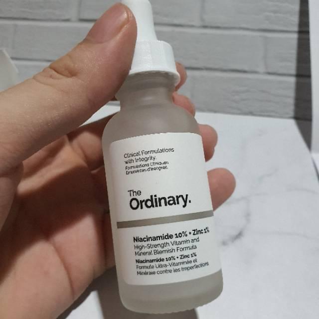 Canada Original The Ordinary Niacinamide 10 Zinc 1 Jika Palsu Garansi Uang Kembali Shopee Indonesia