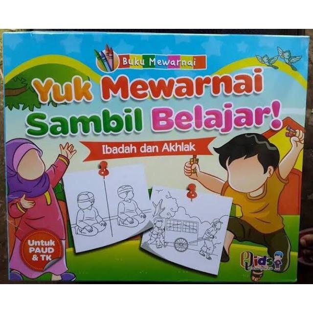 Buku Anak Belajar Mewarnai Shopee Indonesia