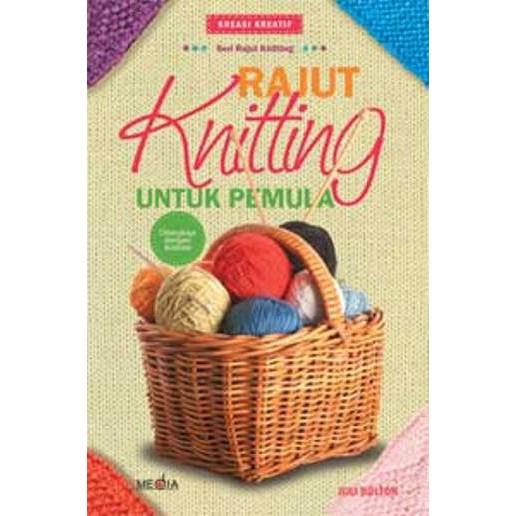 Buku Rajut Knitting Untuk Pemula