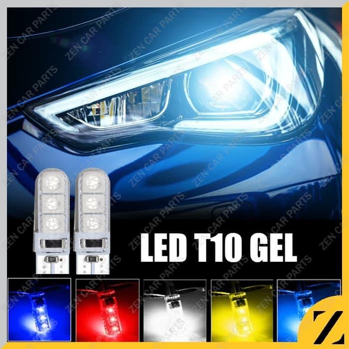 Lampu Led T10 Gel Jelly Sein Senja Mundur Lampu Plat Tahan Panas  A