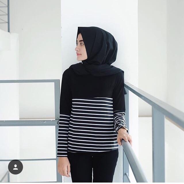 Jesy Top Baju Atasan Blouse Wanita Murah Bahan balotelli Ukuran LD 100cm -  Jamin Bagus Store  ff138600e6