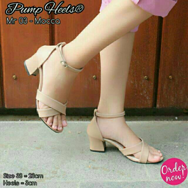 Belanja Online Sepatu Hak - Sepatu Wanita  dfdaac7943