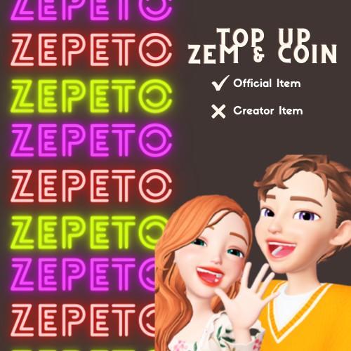 BONUS BERLIMPAH!! TOP UP 1 ZEM & 1000 COIN ZEPETO LEGAL 100%