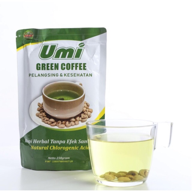 (COD) Umi Green coffee | Shopee Indonesia