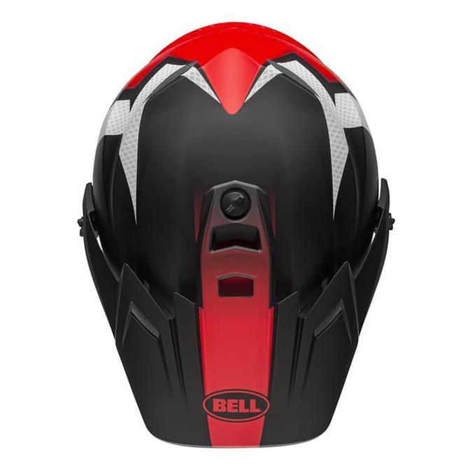 Switchback Black//White//Red Bell MX-9 Adventure Visor