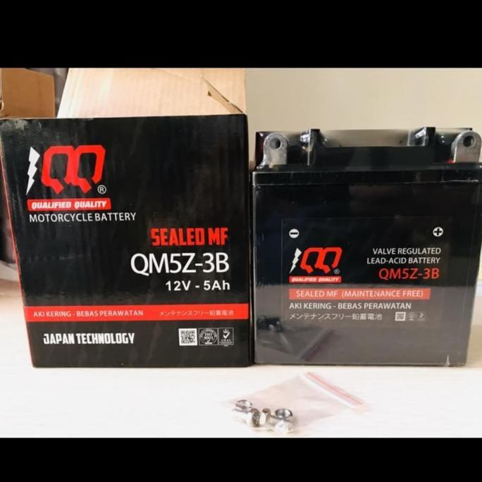 Aki Battery GM5Z - 3B Aki Kering Mio/Mio Sporty/Jupiter Berkualitas