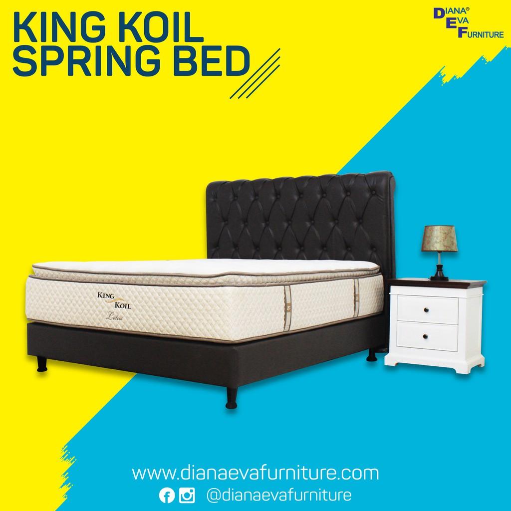 King Koil Spring Bed Lotus ( Kasur Only )