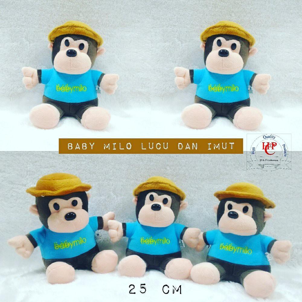 Dijual boneka monkey monyet baby milo istimewa Diskon  03772fc214
