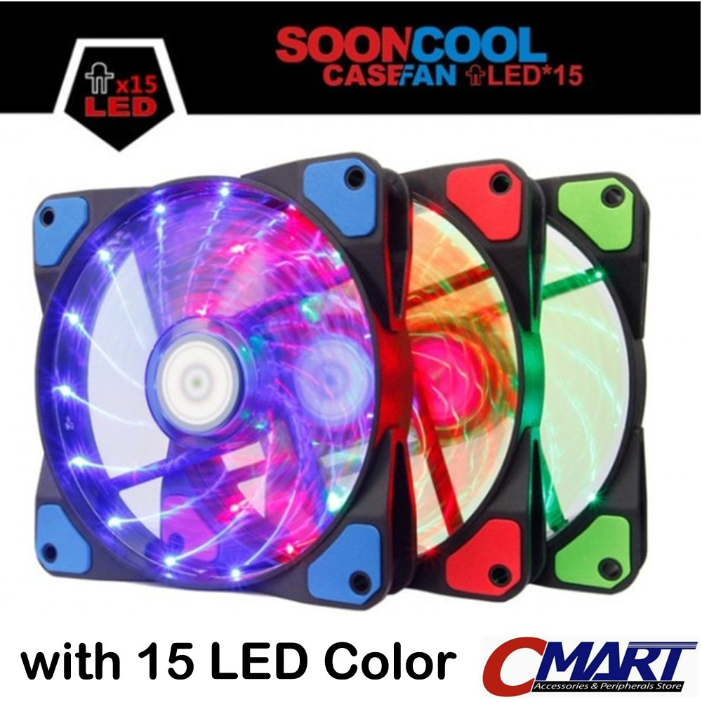 Up To 36 Discount From Brand Alseye Fan Case 12 Cm Sooncool Led 12cm Kipas Casing Pc Cooler Als Soo