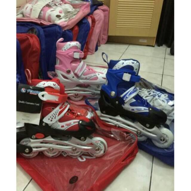 Sepatu roda + dekker + helm inline skate harga grosir  ebba323a82