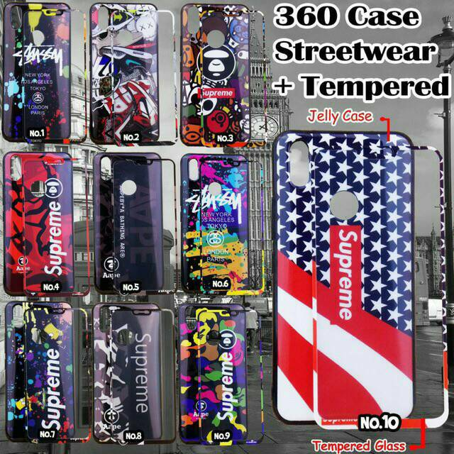 online store 3ee8b a124f SAMSUNG J2 PRIME / CASE 360 SUPREME + TEMPERED GLASS