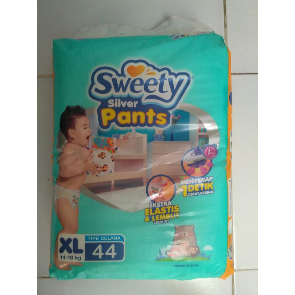 699c50d41 Sweety M 38 / L 36 / XL 34 Fit Pants / SILVER Pants / celana | Shopee  Indonesia