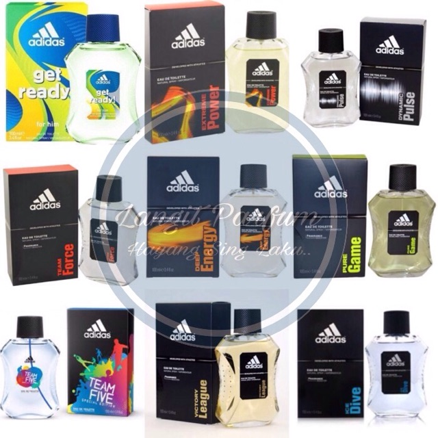100ml Original Adidas Parfum Edt Pria All Variansa Shopee Indonesia