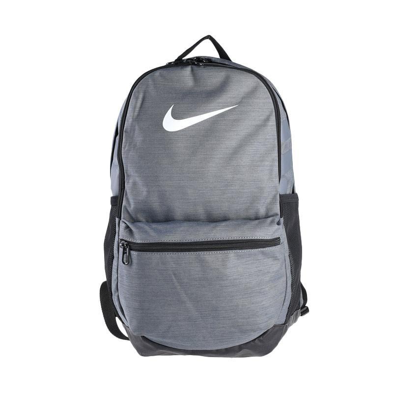Tas Ransel Nike Brasilia Backpack Grey BA5329-064 Original BNWT ... 8a4ffbb9ad
