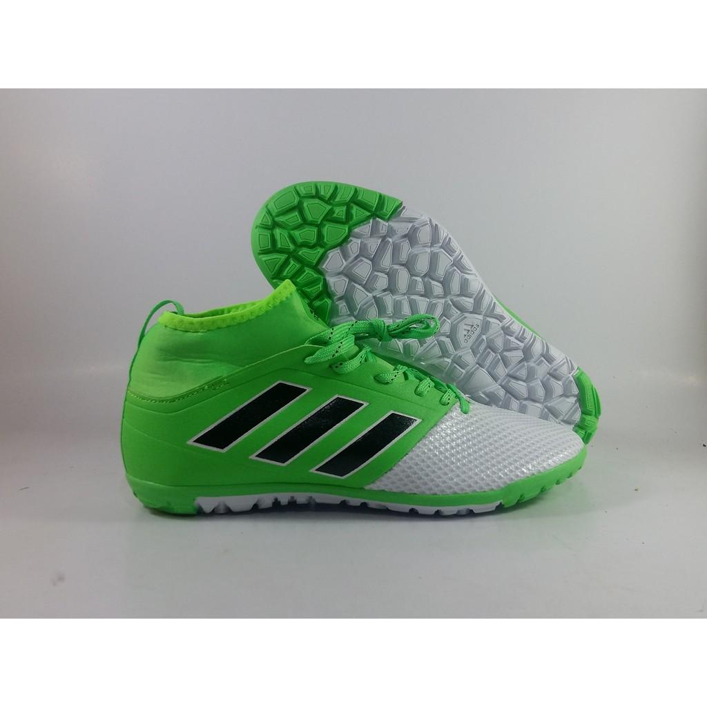 Foto - Foto Produk Sepatu Futsal Sepatu Futsal Adidas ACE 17.3 Green White  Replika Impor Terlaris!! 7109b9ea56