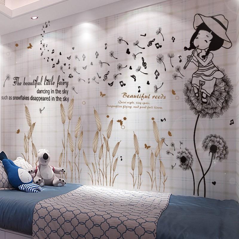 Stiker Dinding Desain Hati Untuk Dekorasi Kamar Tidur Anak Perempuan Shopee Indonesia