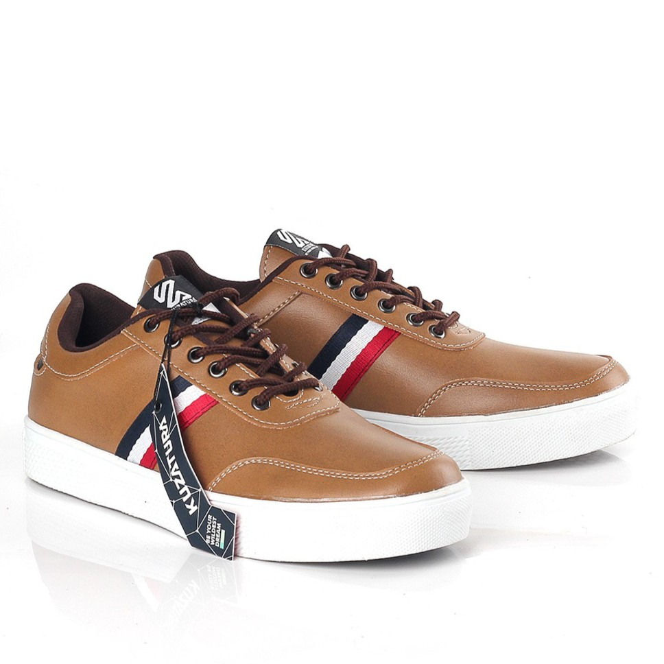 Sepatu Sneakers Casual Hitam Pria Original Kuzatura KNI 264 | Shopee Indonesia
