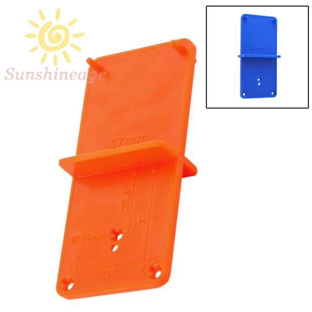 Hole Locator Plate Tool Template Accessory Plastic Guide Drilling Woodworking Supply Equipment Shopee Indonesia