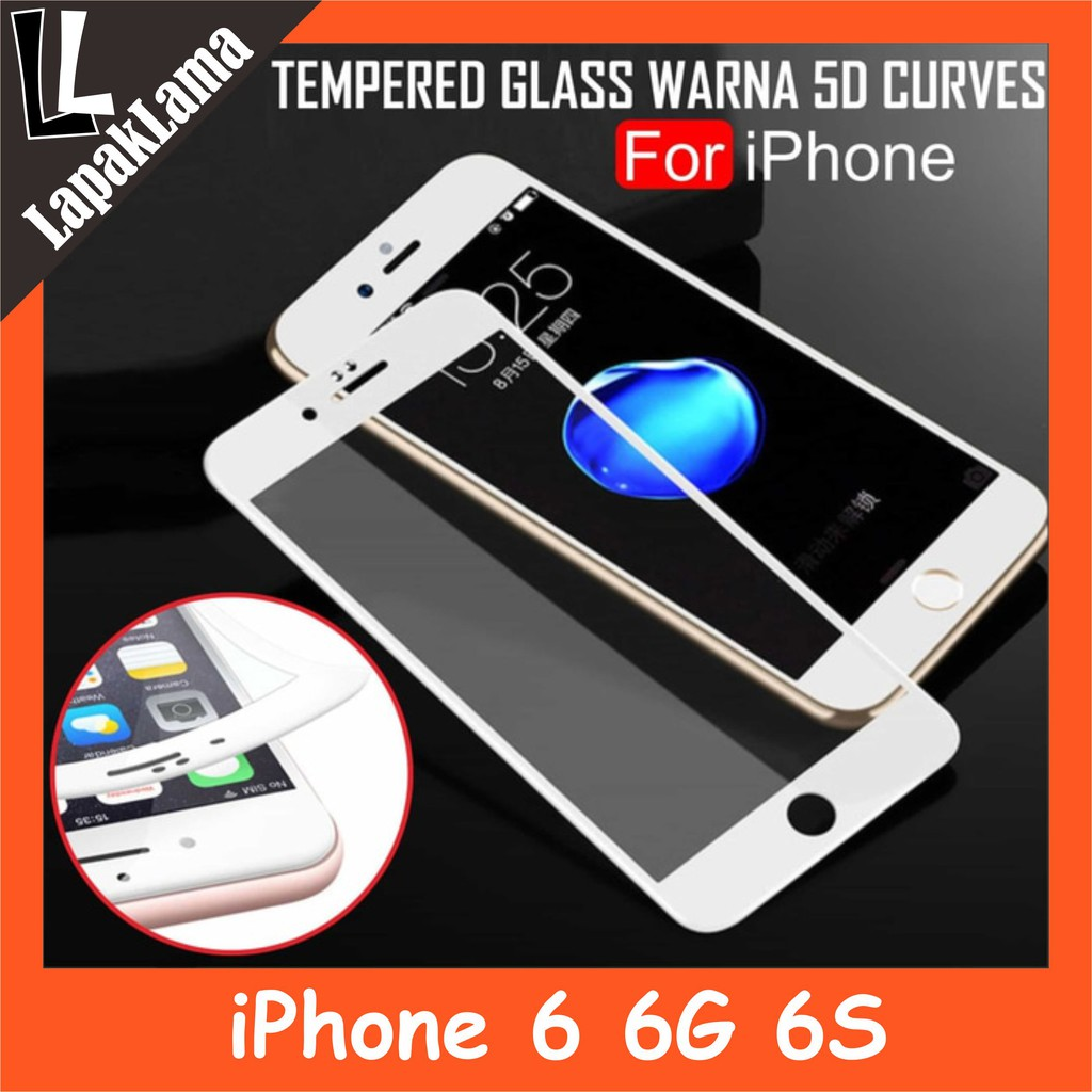 Tempered Glass Bening For Iphone 6 Plus Screen Guard Protector X2 Warna Xiaomi Redmi Note 4 Kaca Colour Temperedglass Shopee Indonesia