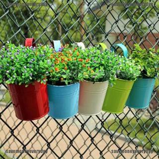 Bayar Di Tempat Logam Besi Pot Bunga Gantung Pastoral Balkon Taman Tanaman Perkebunan Dekorasi Shopee Indonesia