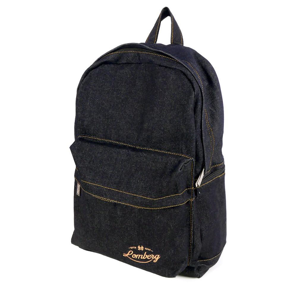... Lomberg BLAXX Backpack - Tas Ransel Denim - Hitam ...