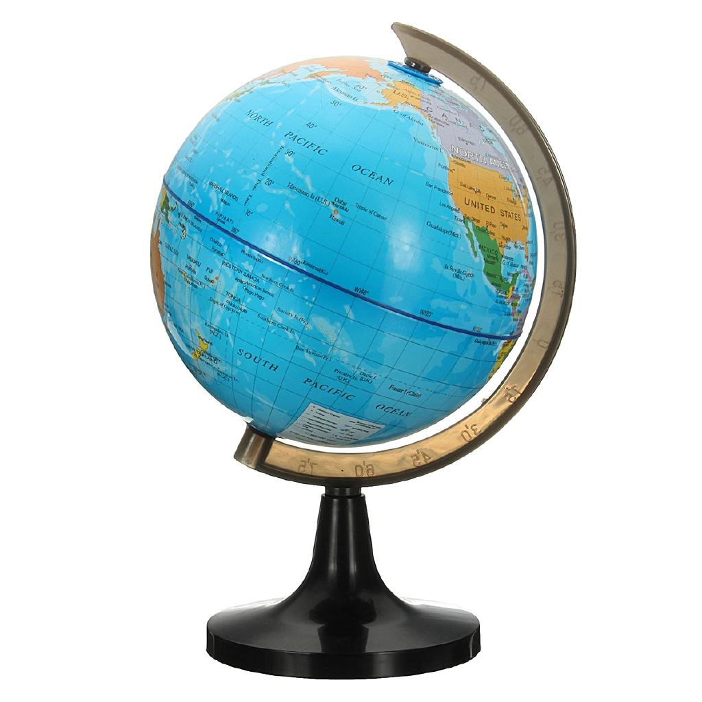 Pengertian Globe: Garis Bujur dan Lintang Beserta Informasi Geografis
