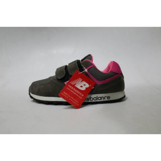 Sepatu New Balance Abu Pink Grade Original  e405bcfb48