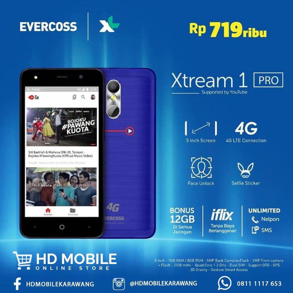 Evercoss Xtream 1 Pro M50 Star Free Youtube Shopee Indonesia Nexcom Speed Tablet Android Ics Dual Sim