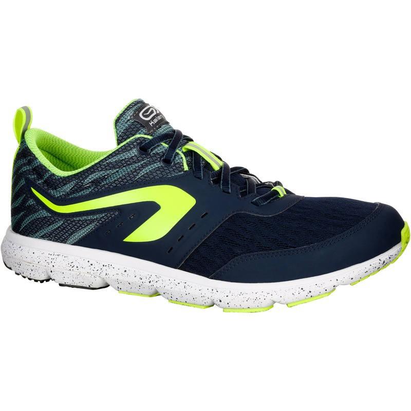 Garansi Ori Sepatu Lari Running Shoes Kalenji Active Breath Men Pria Laki  Asli Original Kuning  330dd338ff
