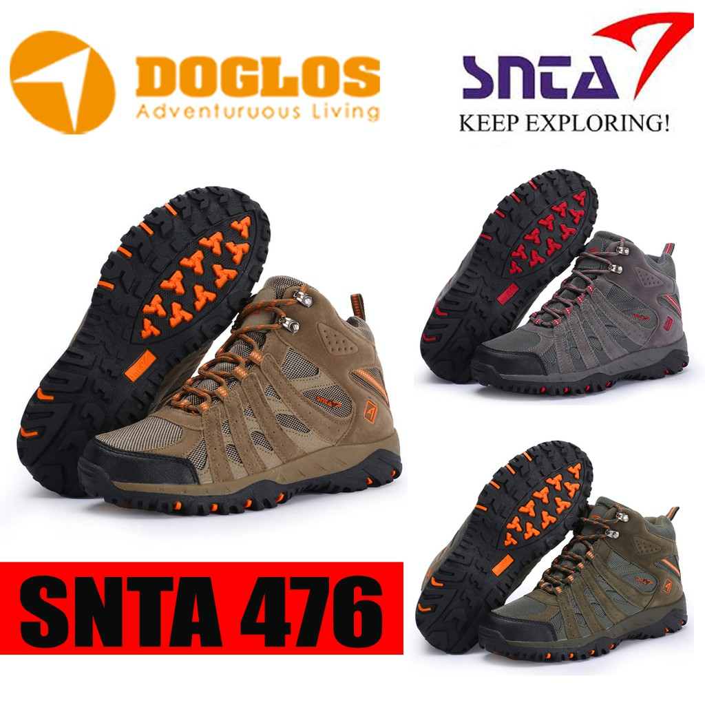 Sepatu gunung SNTA 476 Outdoor shoes boot hiking trekking travelling ... 34b229419c