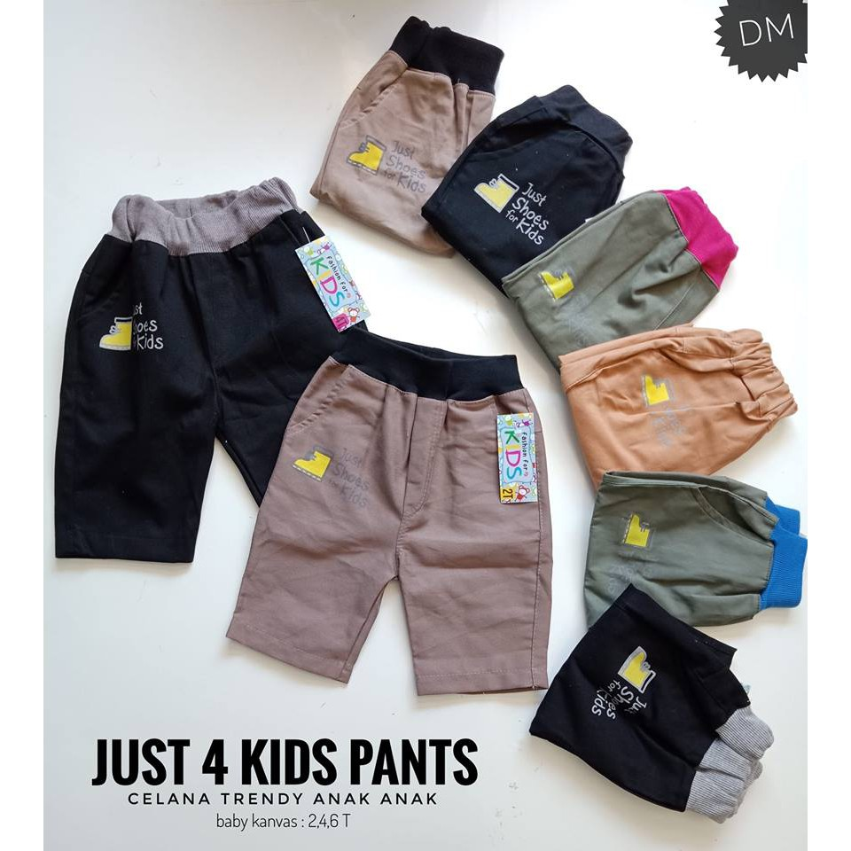 Celana Anak Laki Torio Kids Rock Spandex Trouser Shopee Bermuda Denim 3 4 Y Indonesia