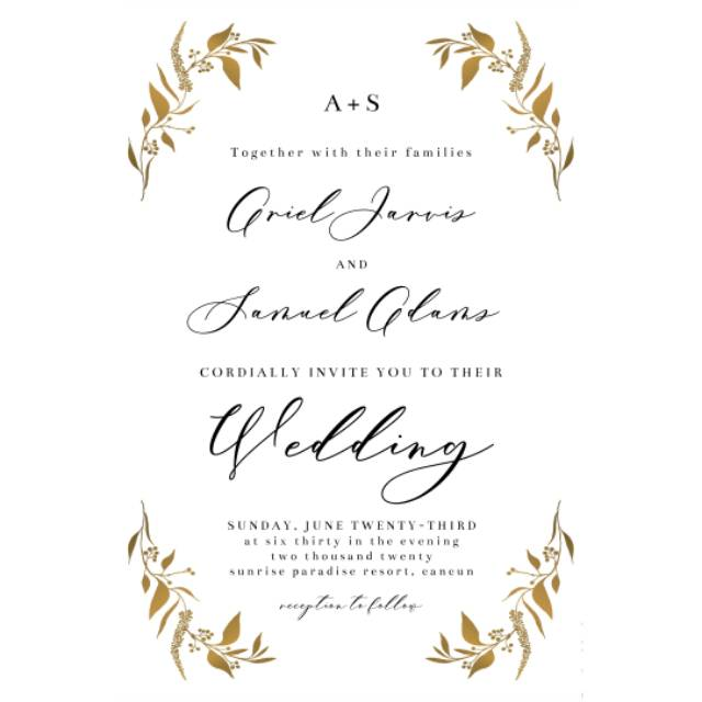 E Invitation Wedding