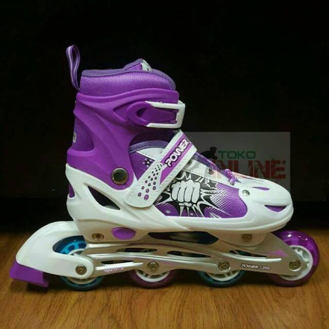 Sepatu Roda Anak Inline Skate Murah Power Line PL5800 - Pink ... 9ed047ab50