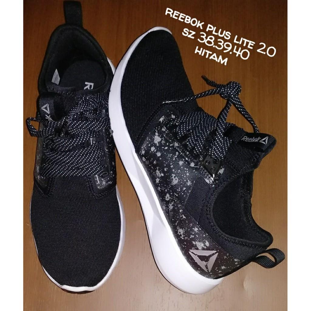 Sepatu Reebok plus Lite 2.0 hitam  281ec56533