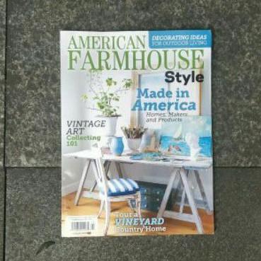 Majalah American Farmhouse Style Magazine August 2020 Majalah Import Shopee Indonesia